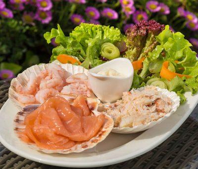 seafood cuisine Isle of Sark