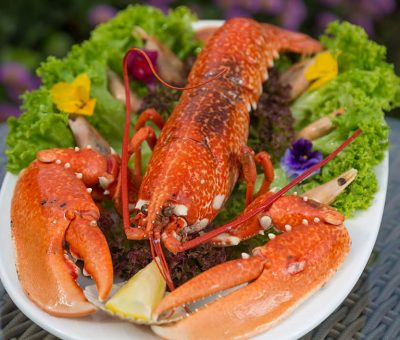 seafood cuisine Sark